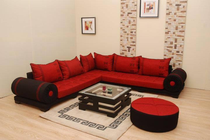 Deco Salon Rouge Et Blanc. Large Images Of Deco Salon Rouge Et Noir ...
